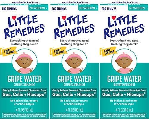 Little Remedies Gripe Water | Safe for Newborns | 4 FL OZ | 3 Pack