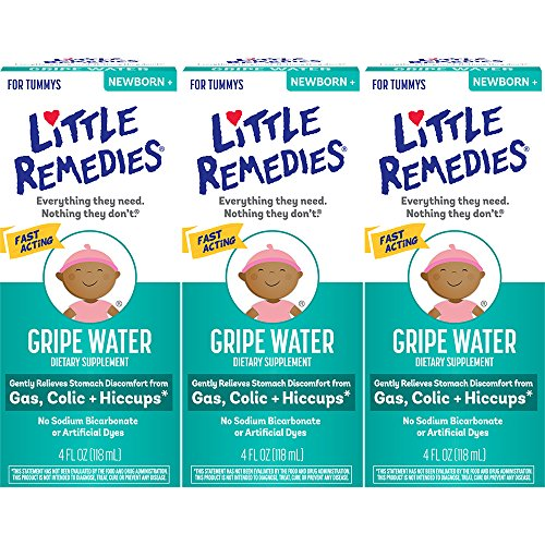 Little Remedies Gripe Water | Safe for Newborns | 4 FL OZ | 3 Pack