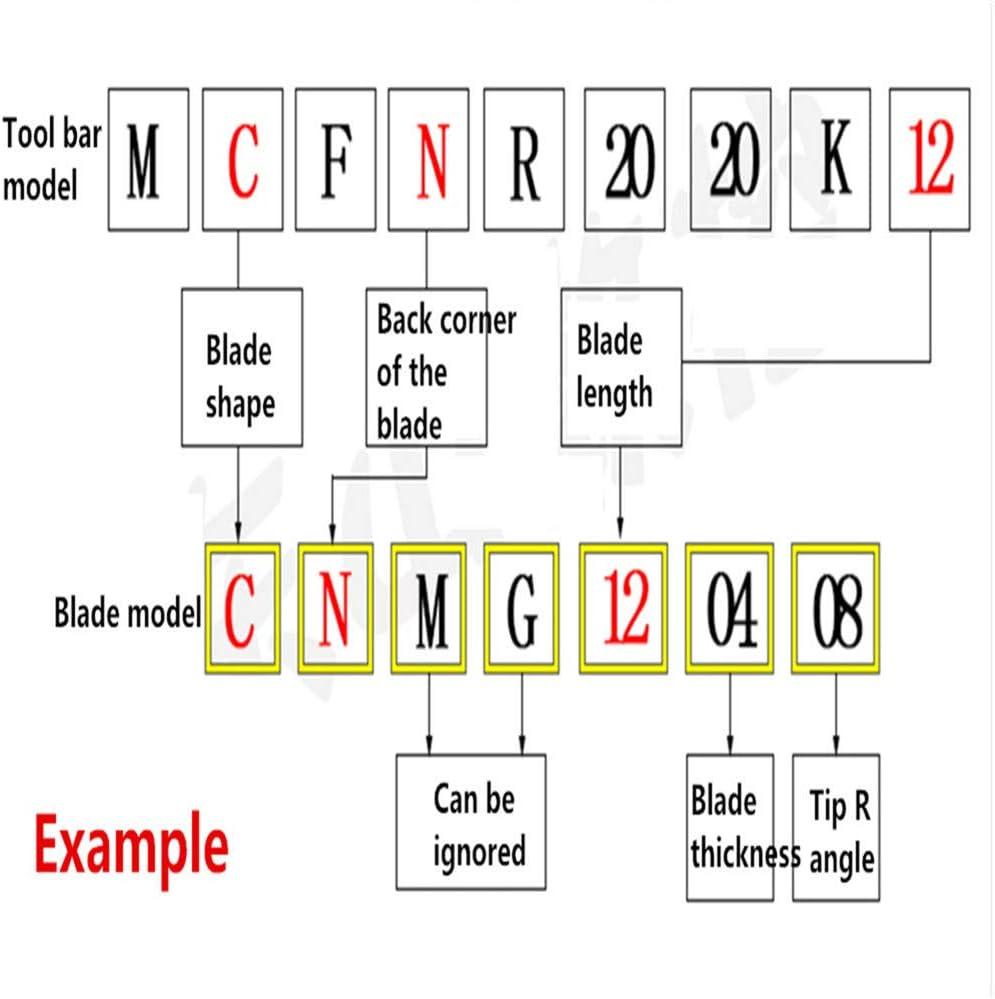 Gaobey 105/°S16Q-STQNR16 Index Internal Lathe Turning Holder For TNMG Inserts