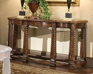 Amazon.com: Aico sofá mesa Windsor corte ai-70203 – 54 ...