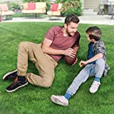 SavvyGrow Deluxe Artificial Grass Turf 6.5 ft x 13 ft - Premium 4 Tone Synthetic Turf, Easy to Clean with Drain Holes - Cesped Artificial Carpet Grass – Non Toxic AstroTurf Lawn (Many Sizes)