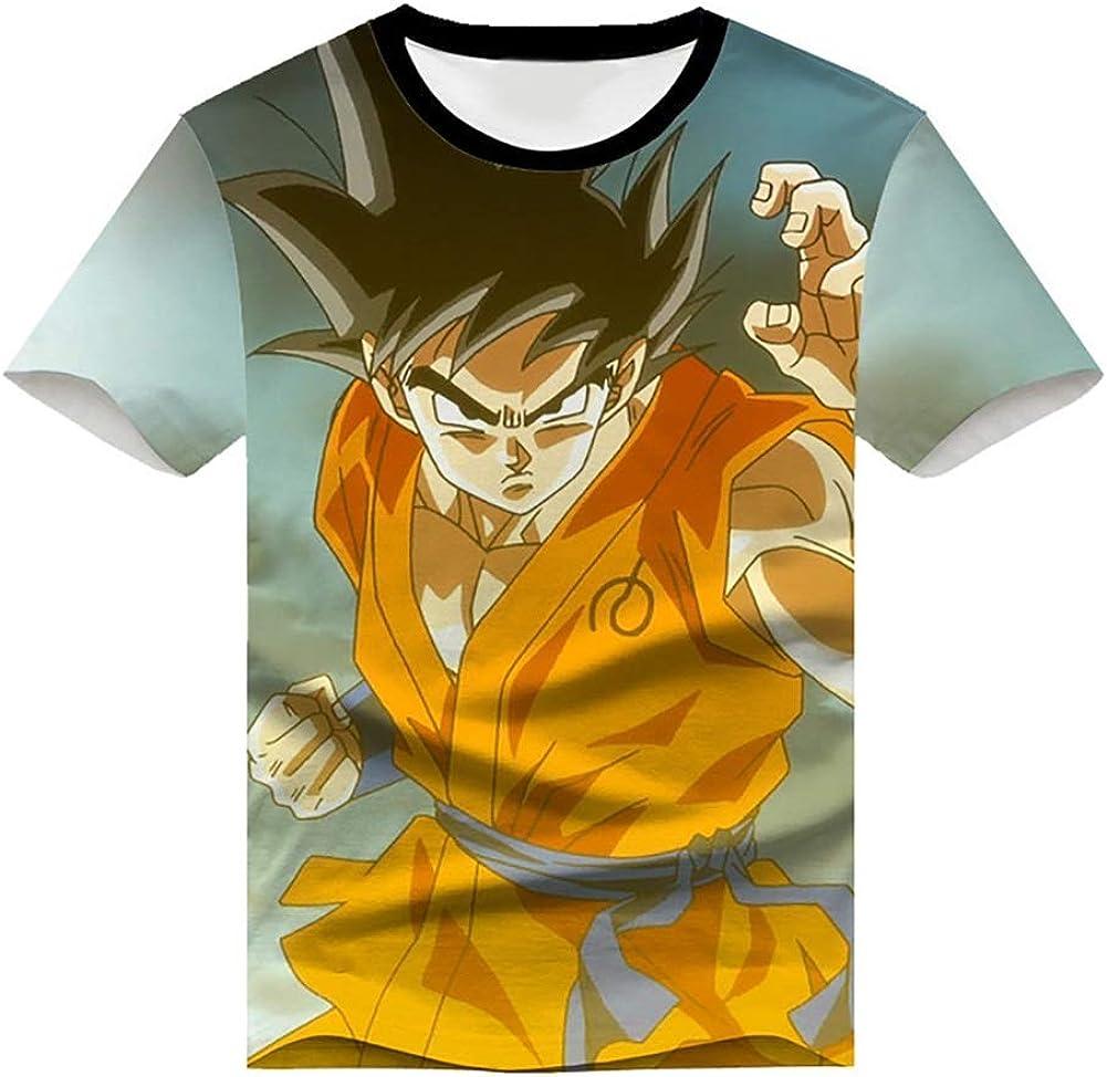 Camiseta de anime BDZ Son Goku Frieza con ojos azules, dragón ...