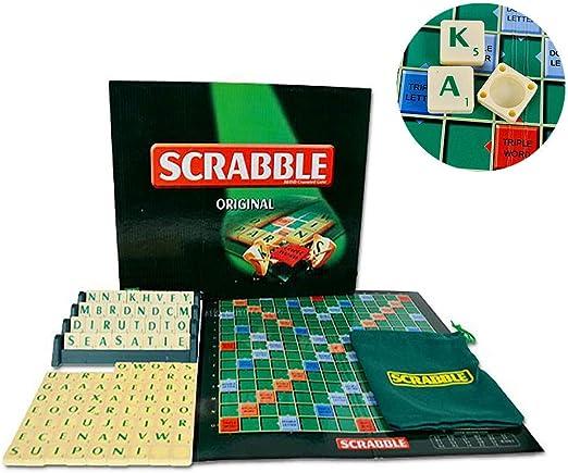 SUMMER Juego De Mesa para Niños, Juego De Mesa Scrabble Original ...