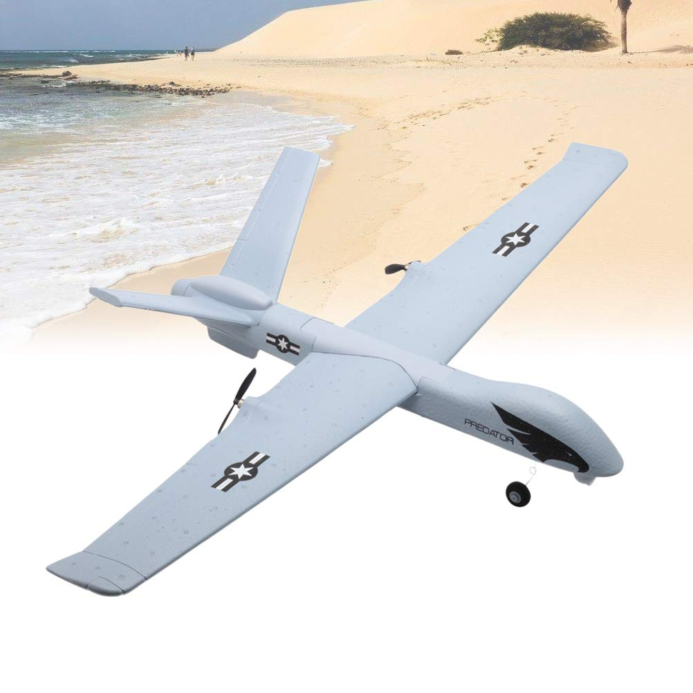 Toyvian DIY EPP Foam Remote Control Aircraft Model Throwing Flying Glider Plane for Kids by Toyvian (Image #5)