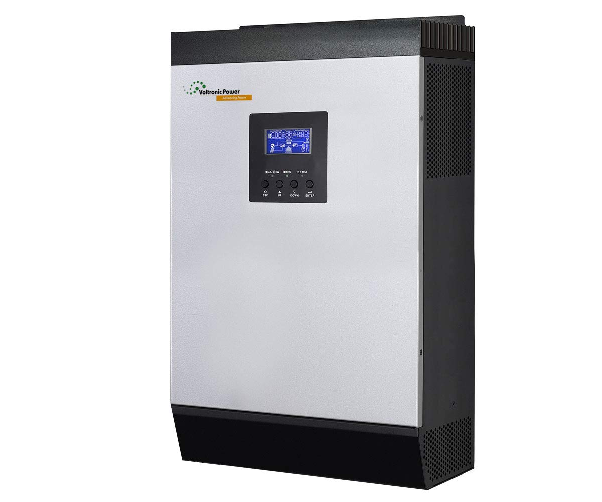 Inversor Solar 3KVA 24V con Cargador 20/30A MPPT 60A Multifuncional | Inversor + Cargador + Regulador | Todo en Uno
