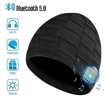 Amazon.com: Eastpin - Gorro con Bluetooth para hombre ...