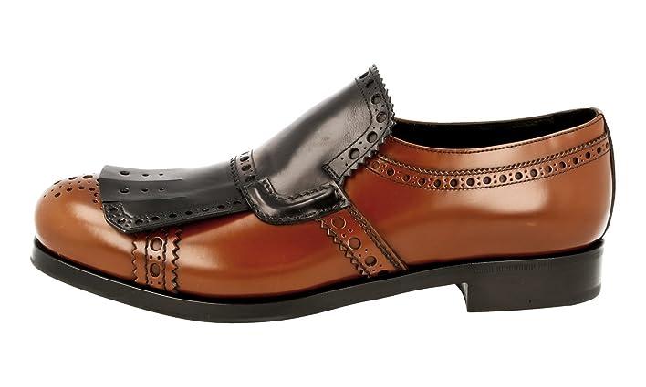 Men's 2DG073 Full Brogue Leather Business Shoes