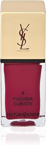 Yves Saint Laurent - La Laque Couture Nº 7 Prune Minimale - Esmalte de uñas: Amazon.es: Belleza