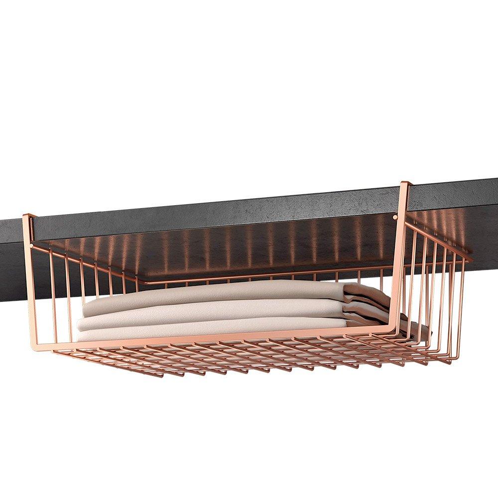 Metaltex Kanguro Copper intermedio Mensola, Metallo, Rame, 26x 40x 14cm 36.31.40