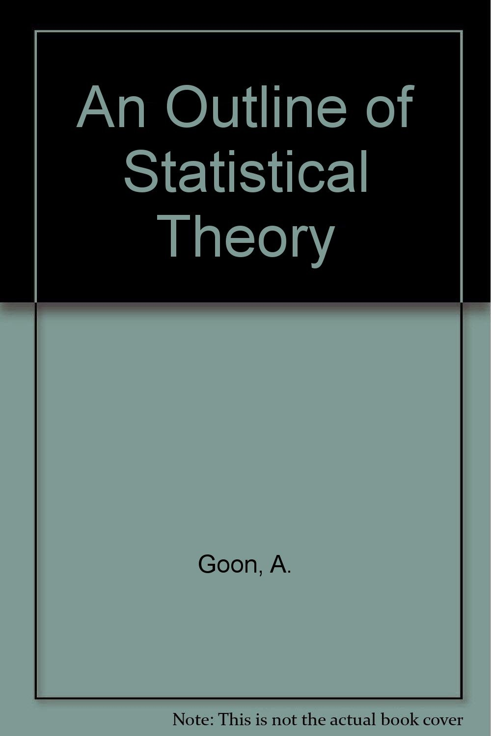 An Outline of Statistical Theory pdf epub