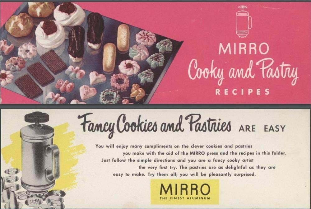 Mirro 16 Pc Cookie Pastry Press by Mirro (Image #1)