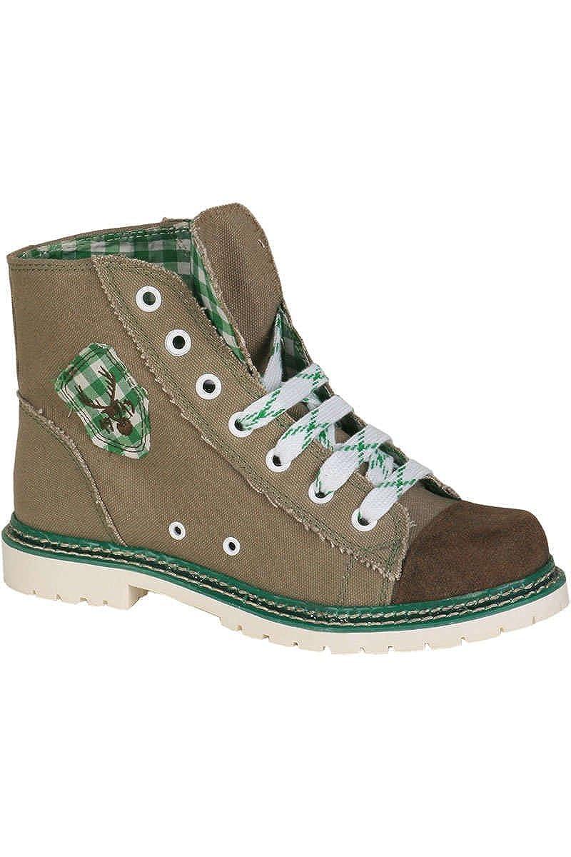 Spieth & Wensky Damen Turnschuhe Jacky braun grün rustikal braun grün