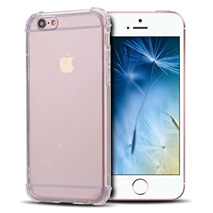 Anfire Funda iPhone 6 / 6S, Carcasa de Transparente y Suave ...
