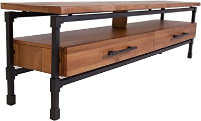 Amazon Com Franklin Coffee Table The Industrial Shop