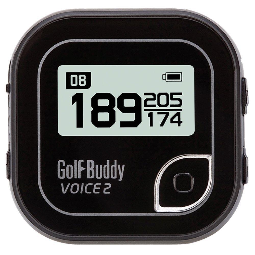 Golf Buddy Voice 2 Golf GPS/Rangefinder (2 Pack) - Black