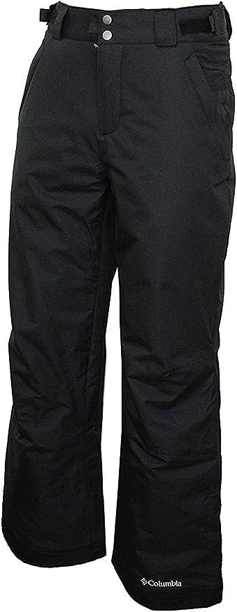 Columbia Omni Tech Snow Pants Living Color Solid Black Ski Snowboard XXL NWT