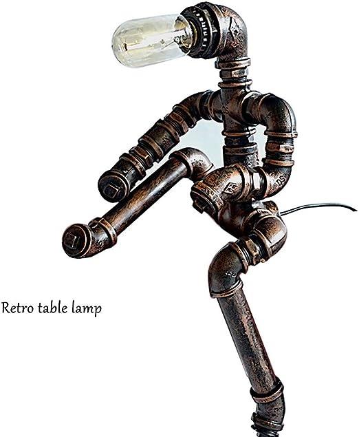 CUTELOVE Lámparas de Mesita de Noche Lámpara de Mesa de Tubo ...