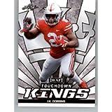 2020 Leaf Draft Football #80 J.K. Dobbins Pre-Rookie Trading Card Ohio State Buckeyes