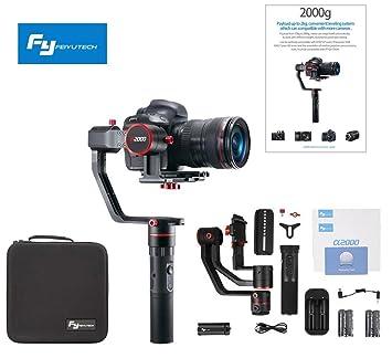 Feiyu A2000 FeiyuTech A2000 3 ejes cardán para cámara réflex ...