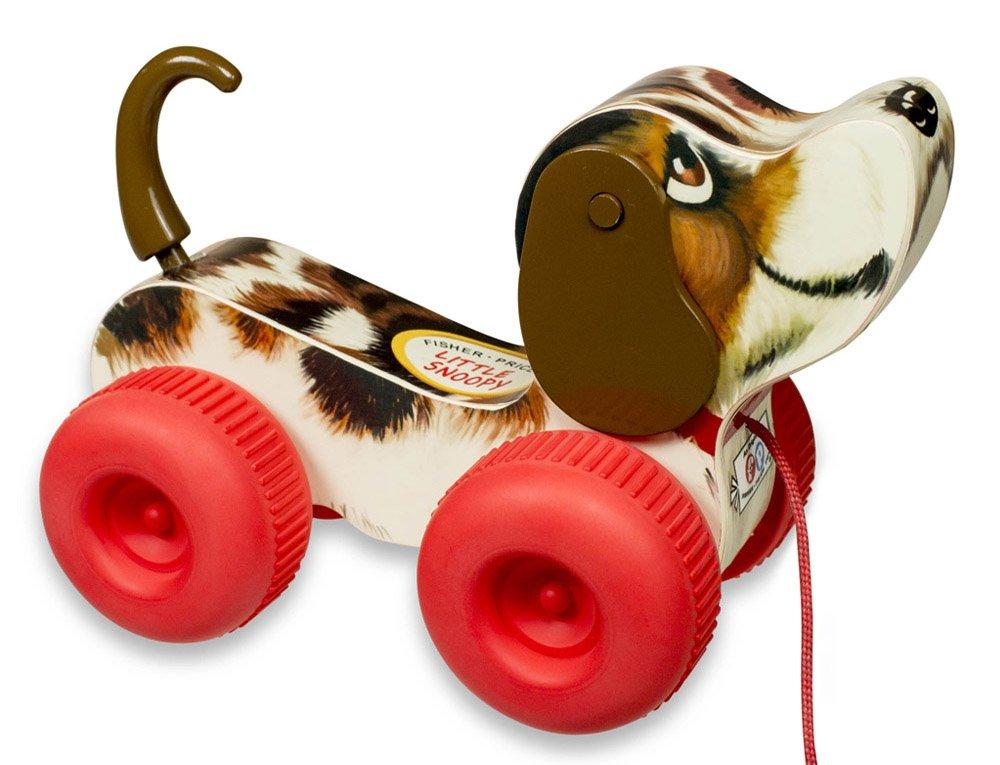 Fisher Price Classics tirón del juguete la razón: Pequeño Snoopy