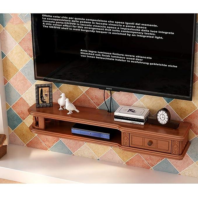 Amazon.com: Wall-Mounted TV Cabinet Floating Shelf TV ...