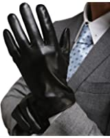 Harrms Best Luxury Touchscreen Italian Nappa Genuine Leather Gloves for men's Texting Driving Cashmere Lining
