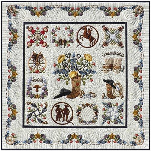 P3 Designs Baltimore Happy Trails BOM Applique Quilt Pattern Set by P3 Designs