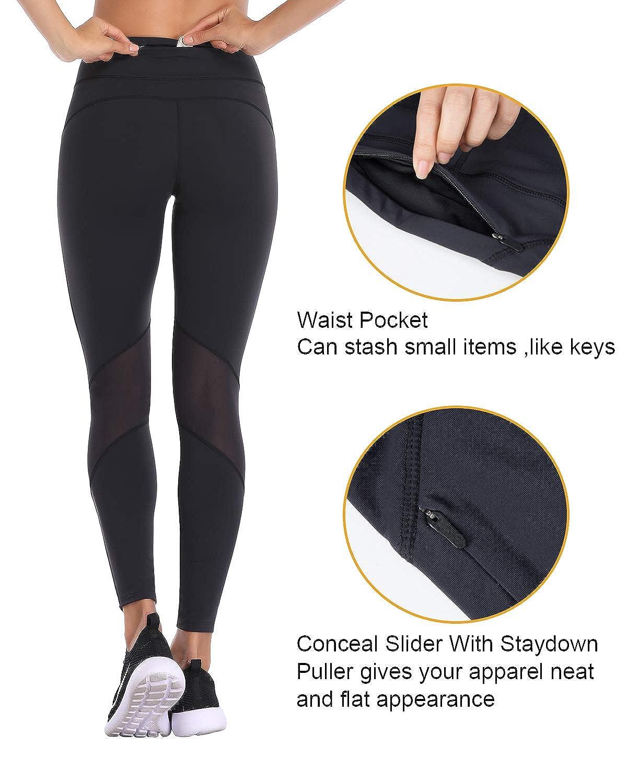 32e-SANERYI Professional Running Leggings Nylon Lycra Performance Full Length Pants for Women with Mesh Design