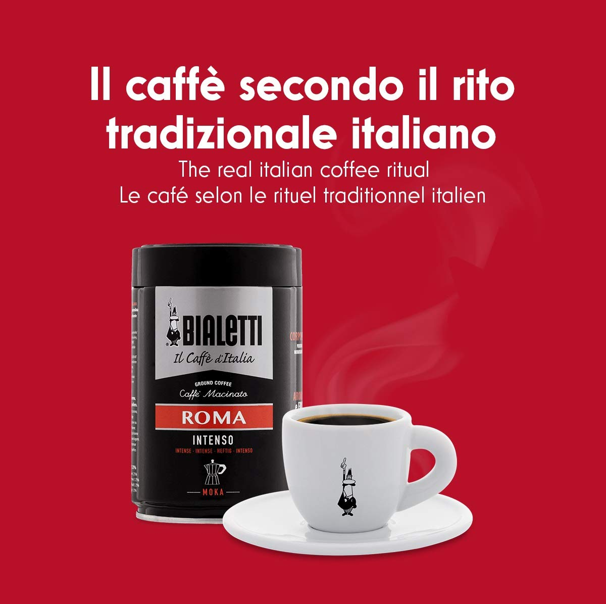 Bialetti Moka Express - Cafetera Espresso para 9 Tazas: Amazon.es ...