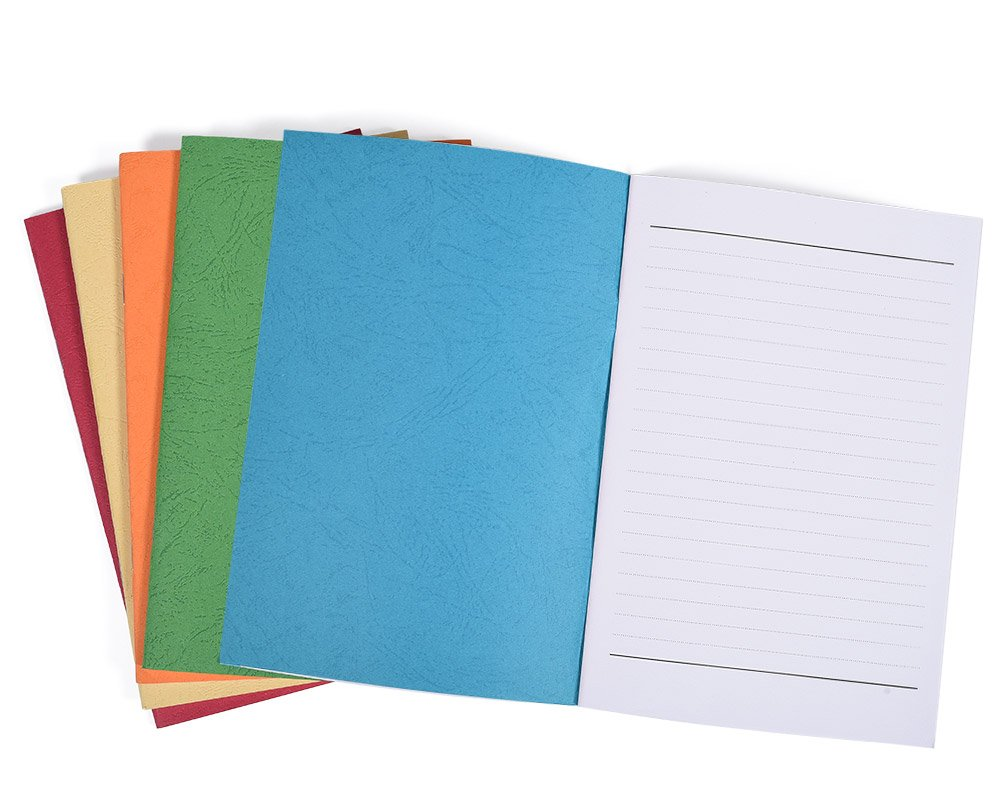 """5 Pack Colorful Soft Cover Writing Notebook Journal Diary Notebook Daily Notepad, Lined Pages, A5 Size, 8.3""""x 5.5"""", 30 Sheets/60 Pages by koboome (Image #3)"""