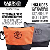 Klein Tools 55470 Utility Bag, Stand-Up Zipper Tool
