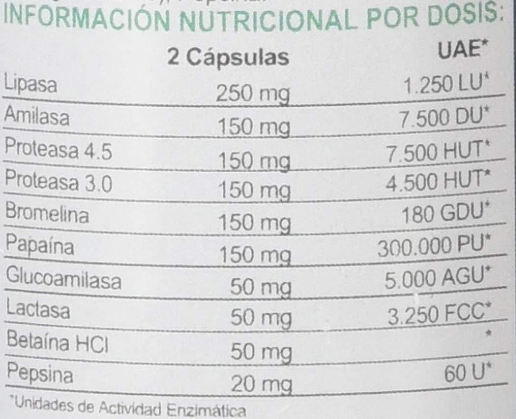 Airbiotic AB, Complejo de Digenzyme AB, 60 Capsulas, Ayuda Digestiva ...