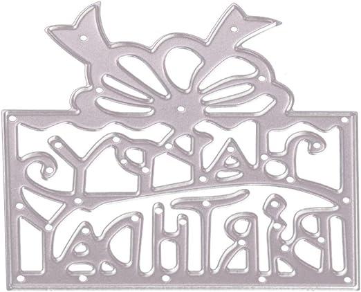 DIY Silver Cutting Dies Stencils Scrapbooking Embossing Album Paper Card Gift
