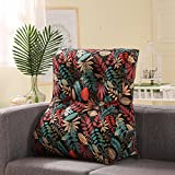 KELE Multi-functional Waist Pillow, Triangular Sofa Cushion, Bed Backrest, Soft Bag, Office Lumbar Pillow, Removable And Washable-E 50x60cm(20x24inch)