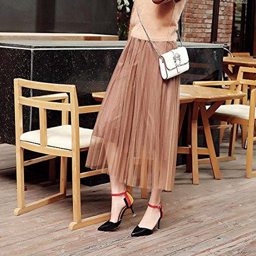 Women's Pointed Toe High Heel Dress Pumps Court Shoes Ankle Strap Buckle Sandals Wedding Party Bridal Shoes Black p0Nq5