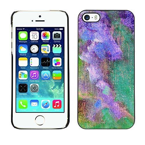 Premio Sottile Slim Cassa Custodia Case Cover Shell // V00001872 abstraite polychrome // Apple iPhone 5 5S 5G