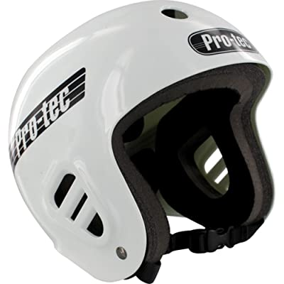 PRO-TEC Classic Full Cut Skate 2-Stage Liner White Medium Skateboard Helmet : Sports & Outdoors