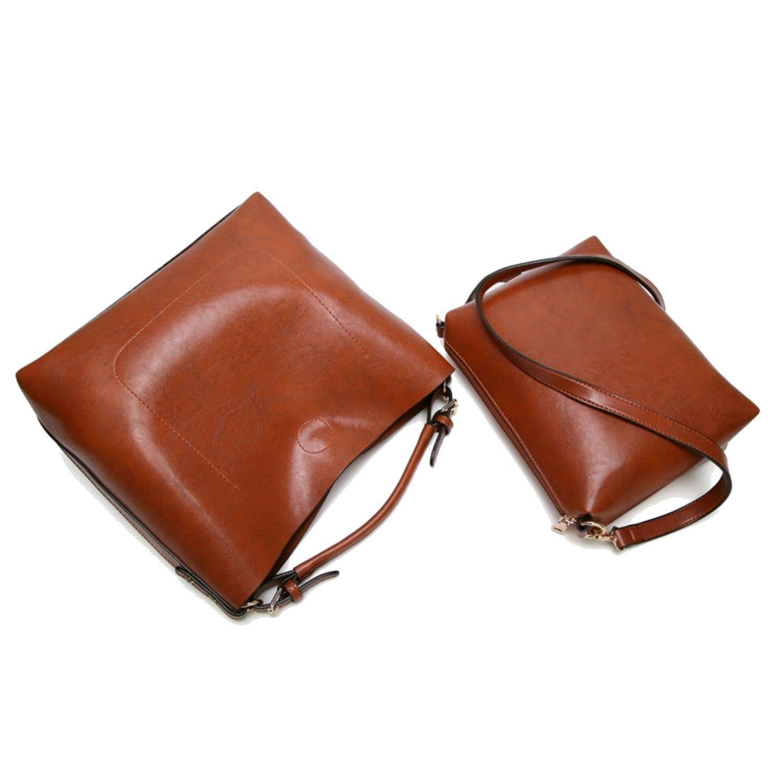 Women Handbags Designer Ladies Satchel Hobo Bags Tote PU Leather Handbags Shoulder Purse by BragBag (Image #6)