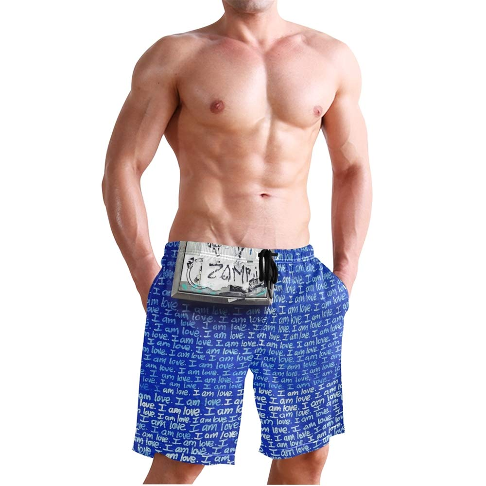 Vicoci Mens Swimming Trunk Surf Shorts Beach Swimsuits