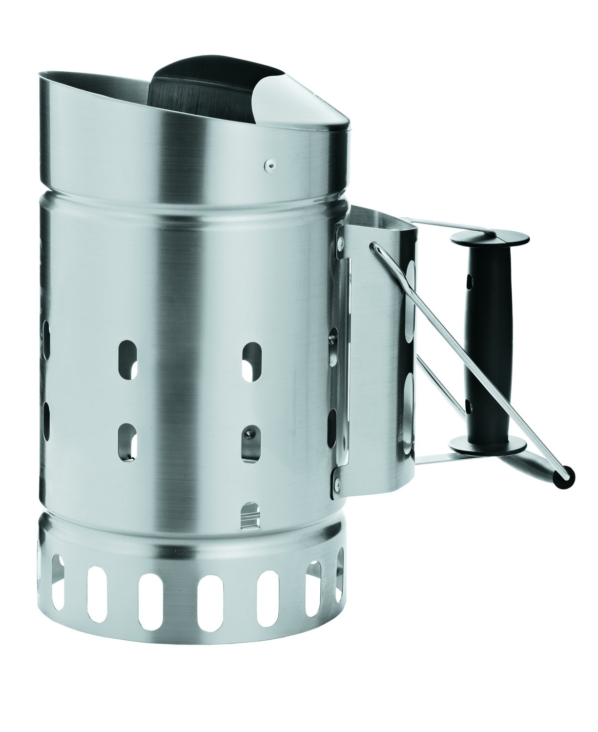 Rosle 25039 Stainless Steel Charcoal Starter Chimney Silver