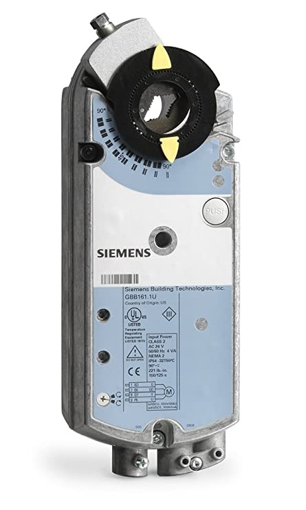 Siemens GBB136 1P Plenum Rated Damper Actuator Electronic