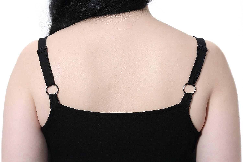 Chicwe Mujeres Tallas Grandes Modal Jersey Camisola Camiseta Sin Manga Chaleco Tank Top - Correa Ajustable: Amazon.es: Ropa y accesorios