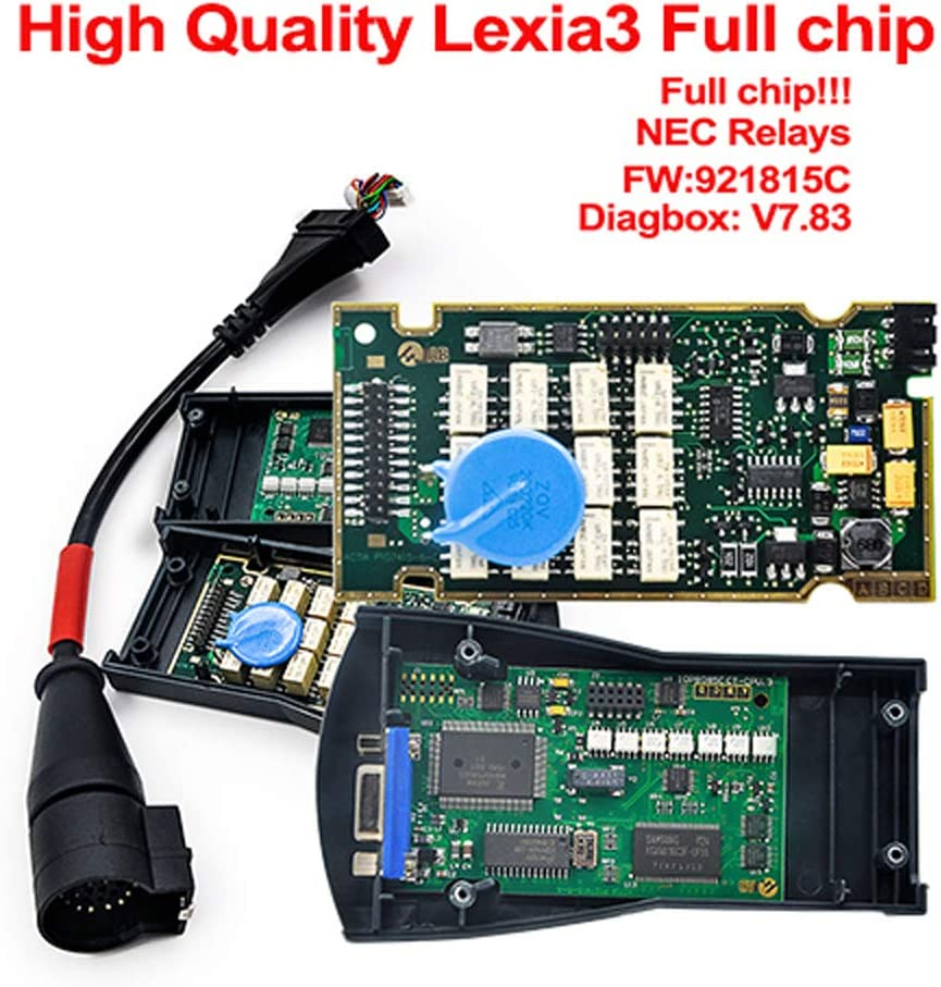 Lexia3 Diagbox V7 83 921815c Citroen Peugeot Lexia 3 Pp2000 Lexia Diagbox Diagnostic Tool V7 83 Gold Edge Chip Auto