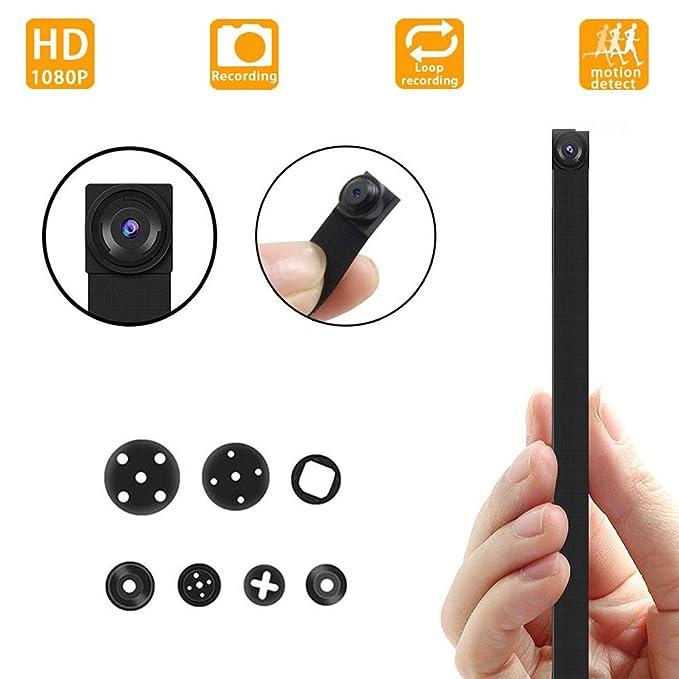 Cámara espía Ultra pequeña Oculta, cámara de vigilancia de Seguridad de Mini niñera HD 1080P Adecuado para el hogar, Oficina, Tienda, etc.