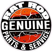 Rat Rod Part & Service Decal 5""