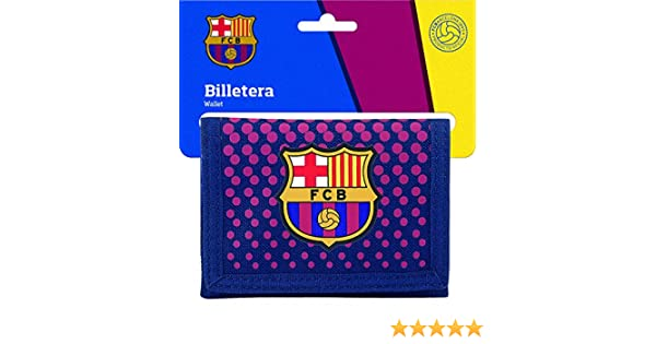Safta Cartera Billetera Oficial F.C. Barcelona Corporativa 125x95mm: Amazon.es: Equipaje