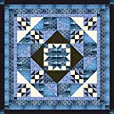 Easy Quilt Kit Diamond Star Medallion/Queen