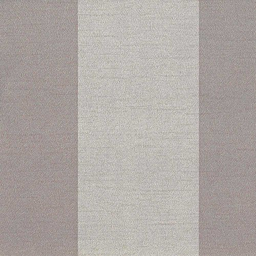 Stripe Wallpaper Double Roll - Aspect Brown/Tan Stripe Wallpaper for Walls - Double Roll - By Romosa Wallcoverings