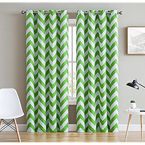 Lime Green Kitchen Curtains: Lime Green Curtains: Amazon.com