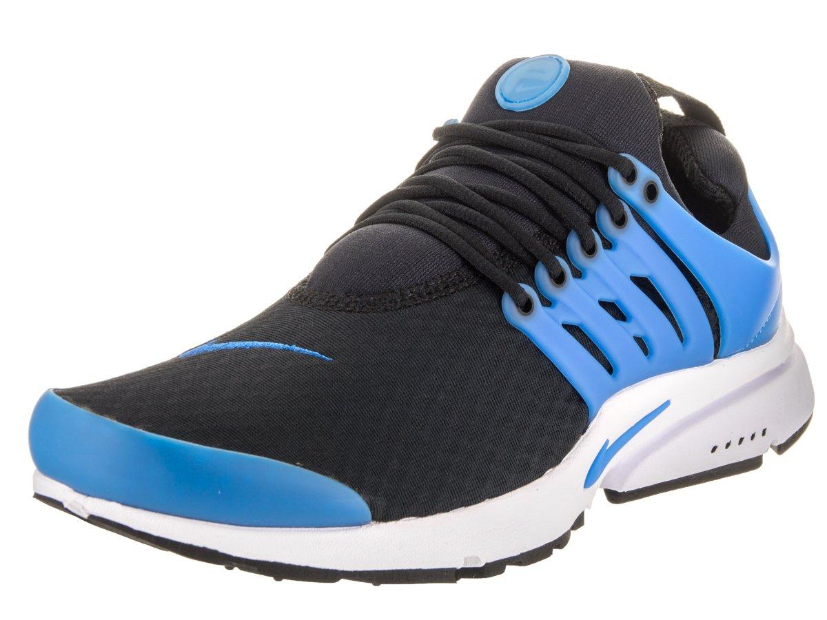 NIKE Men's Air Presto Essential Black/Photo Blue/White Running Shoe 7 Men US
